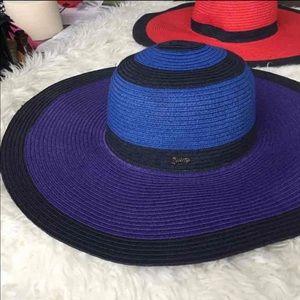 Juicy couture floppy hat beach swim summer sun